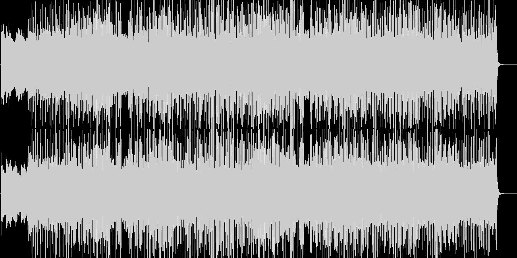 「HR/HM」「DARK」BGM208の未再生の波形