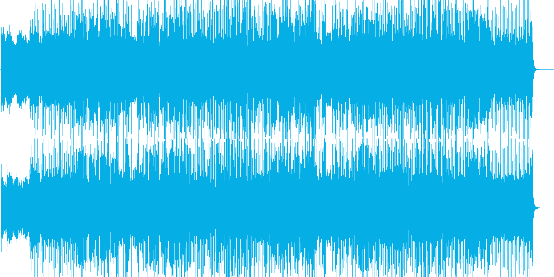 「HR/HM」「DARK」BGM208の再生済みの波形