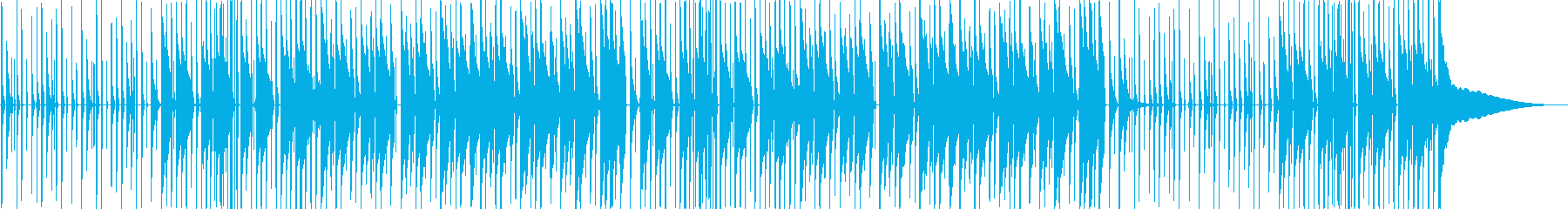 【キッズ動画向け】ほのぼの楽しいポップスの再生済みの波形