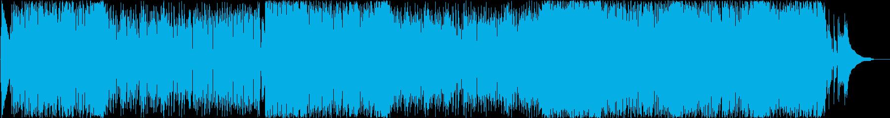 レコードの再生済みの波形