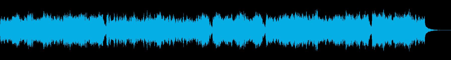 ハリウッド「疾走感・壮大」オーケストラgの再生済みの波形