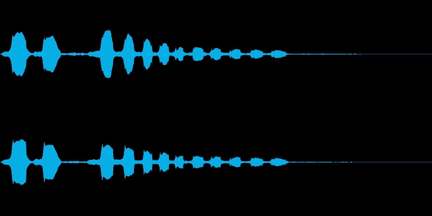 コメディタッチ (ホワンホワンホワン)の再生済みの波形