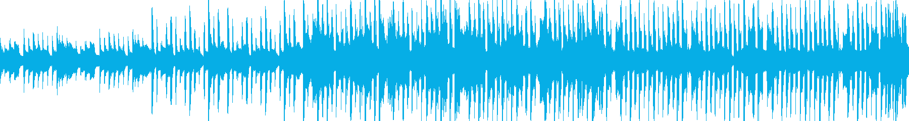 寂しい 幻想的 テクノの再生済みの波形