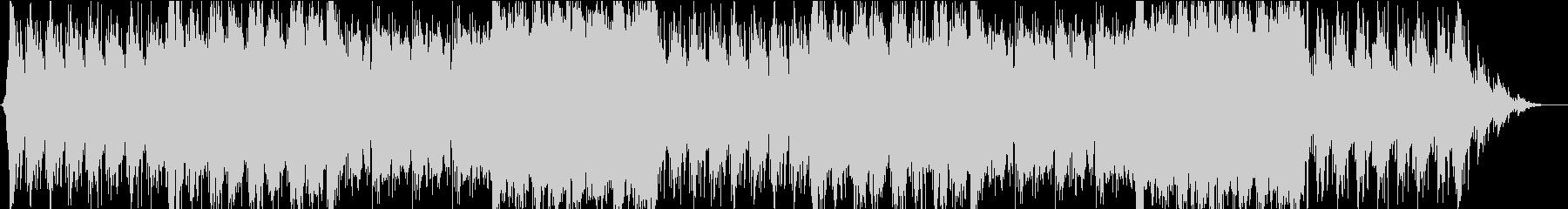 ゲーム・バトル系モノのループ曲2の未再生の波形