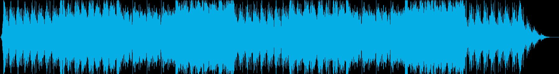 ゲーム・バトル系モノのループ曲2の再生済みの波形