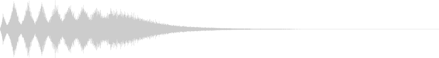 TVFX 目立たせ・アイキャッチ 6の未再生の波形