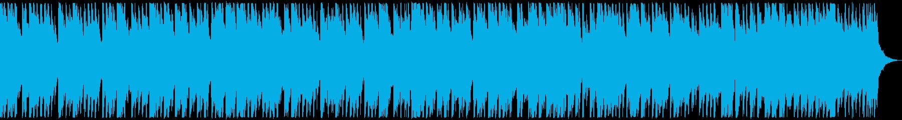 ベル系のメロディーが可愛らしいイメージの再生済みの波形