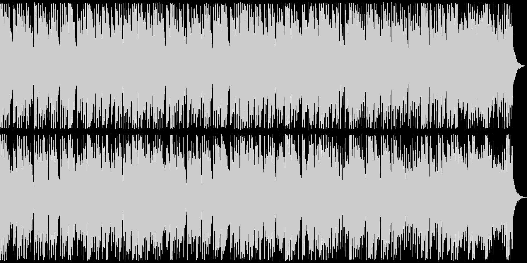 ベル系のメロディーが可愛らしいイメージの未再生の波形