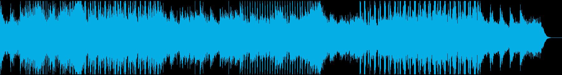 エモいlofi系のイージーリスニングの再生済みの波形