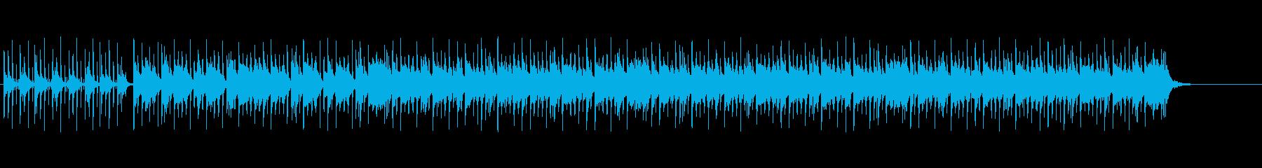 怪しさのあるジングルの再生済みの波形