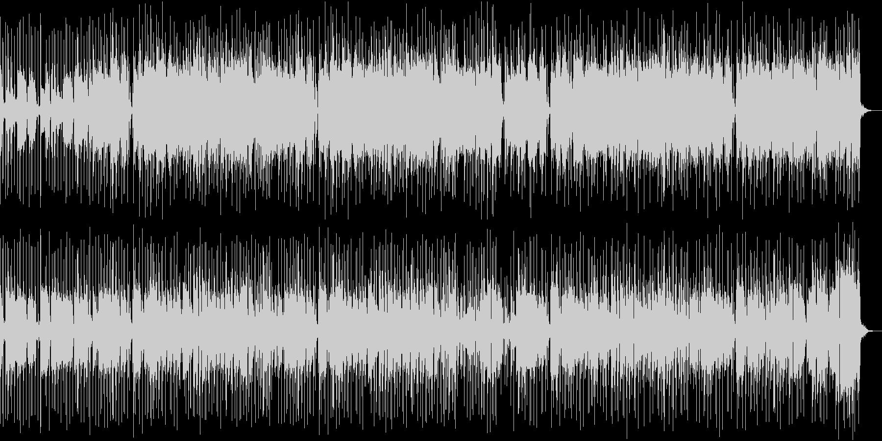 フルート・サックスの哀愁漂うBGMの未再生の波形