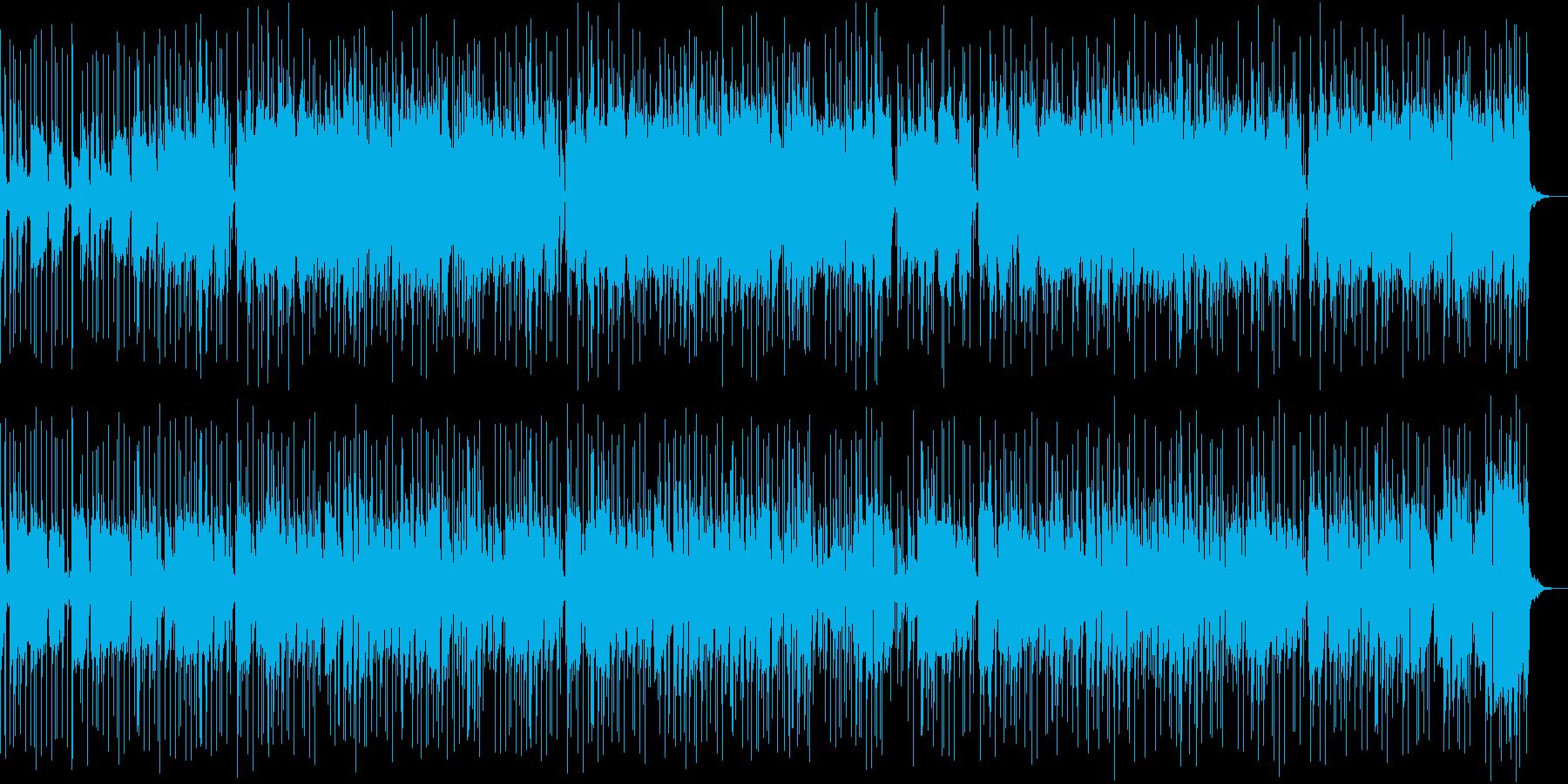 フルート・サックスの哀愁漂うBGMの再生済みの波形