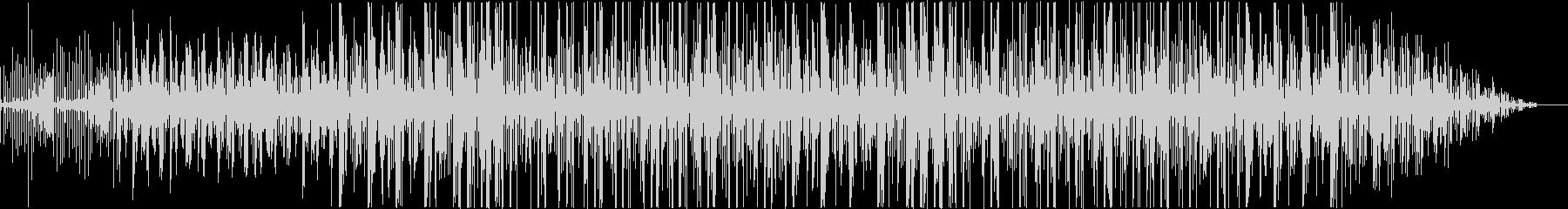 ノスタルジックなTRAPビートの未再生の波形