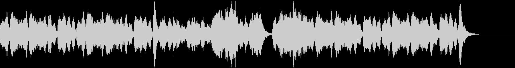 収穫の季節にぴったりなオーケストラBGMの未再生の波形