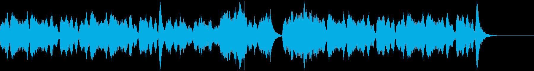 収穫の季節にぴったりなオーケストラBGMの再生済みの波形