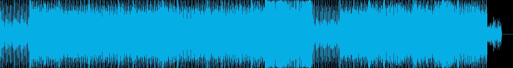 脈打つシンセベースによるインディー...の再生済みの波形