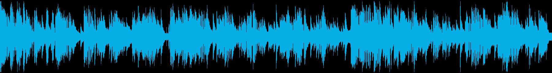 コメディお色気シーンのサックス※ループ版の再生済みの波形