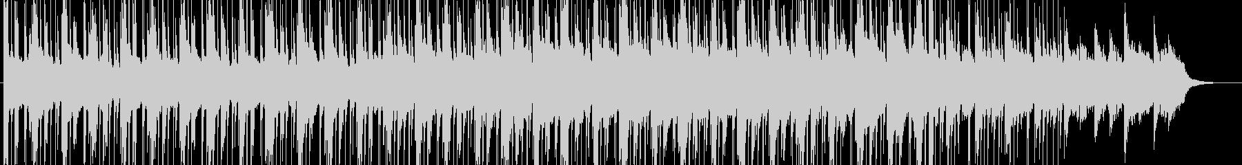 ローファイなHiphopの未再生の波形