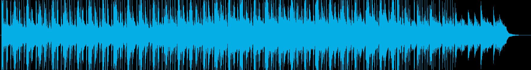 ローファイなHiphopの再生済みの波形