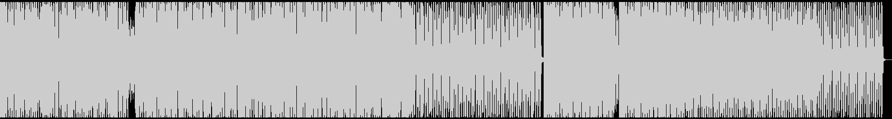 疾走感 Sax ジャズハウスビートの未再生の波形