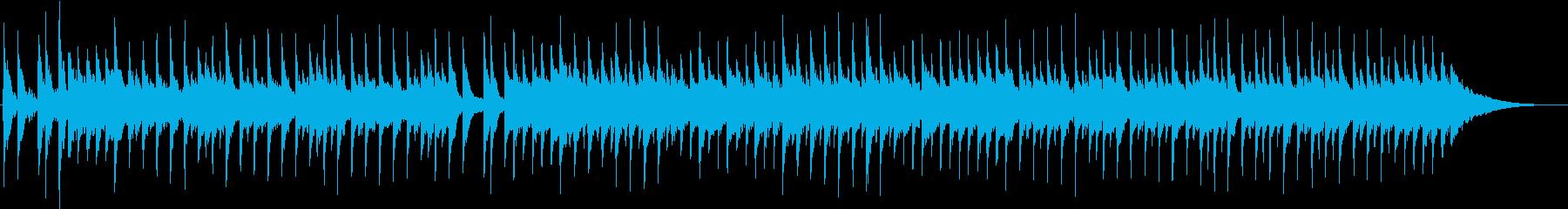 リズムが盛り沢山なワクワクするポップスの再生済みの波形