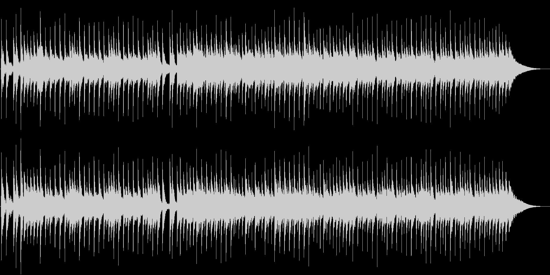 リズムが盛り沢山なワクワクするポップスの未再生の波形
