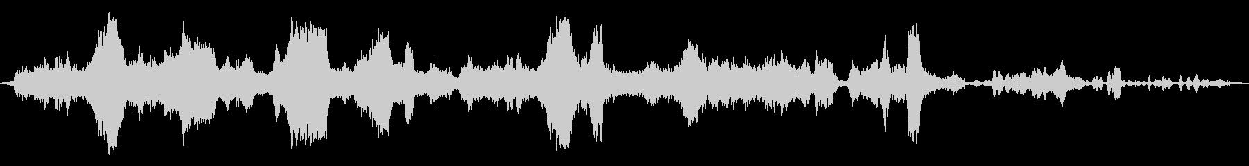 タイムトラベルミュージカルパルサーの未再生の波形