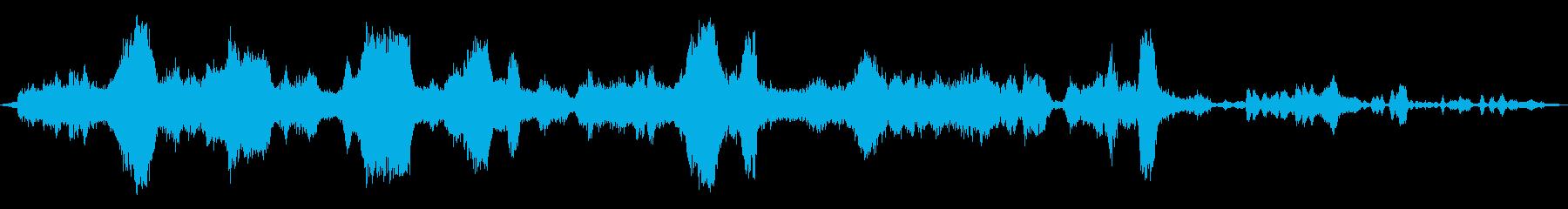 タイムトラベルミュージカルパルサーの再生済みの波形