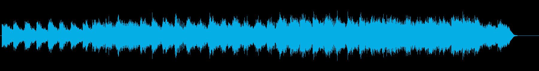 安らぎのアンビ系サウンドの再生済みの波形