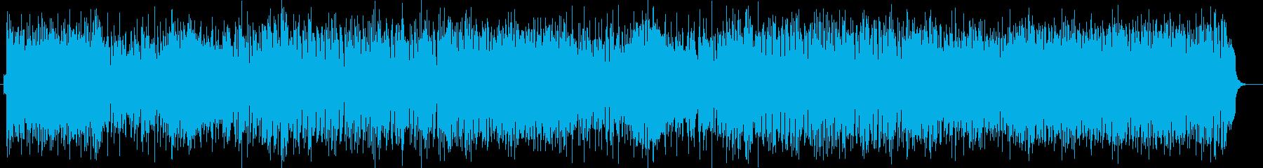 お洒落で現代的なミディアムテンポポップスの再生済みの波形
