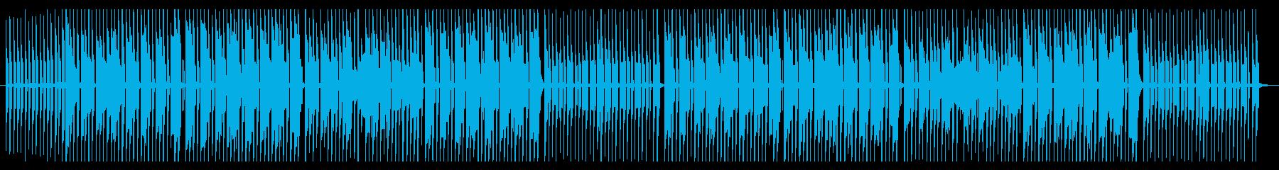 ピコピコ楽しいパレード風ファミコンBGMの再生済みの波形