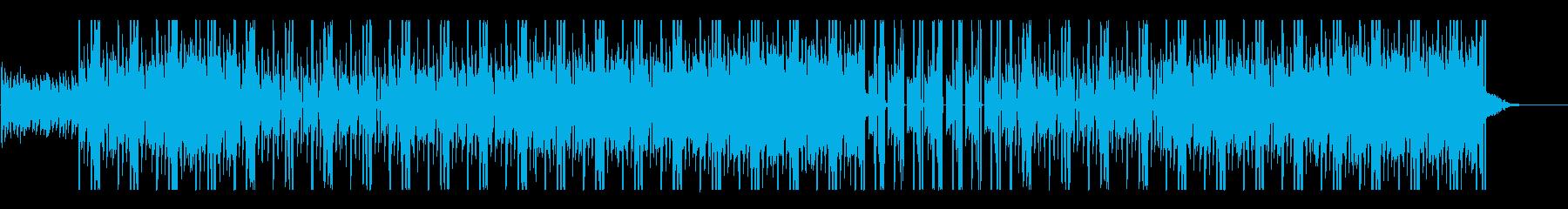 キレの良い軽やかなビートの再生済みの波形