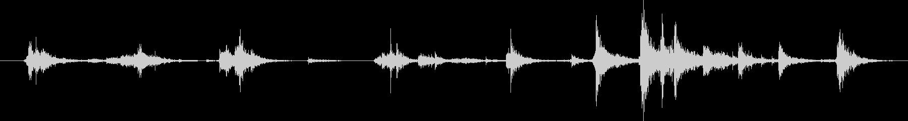 アルミステップラダー:ムーブメント...の未再生の波形