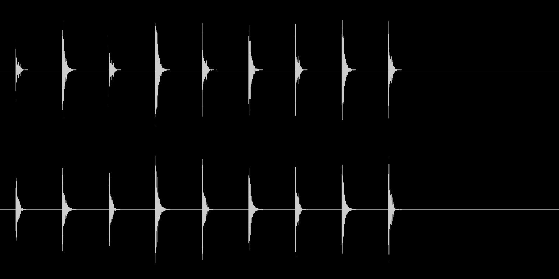 歌舞伎・能◆シンキングタイム 小鼓 小太の未再生の波形