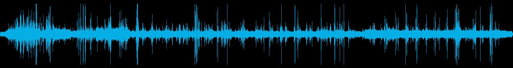 重機が建物を解体している音 13の再生済みの波形