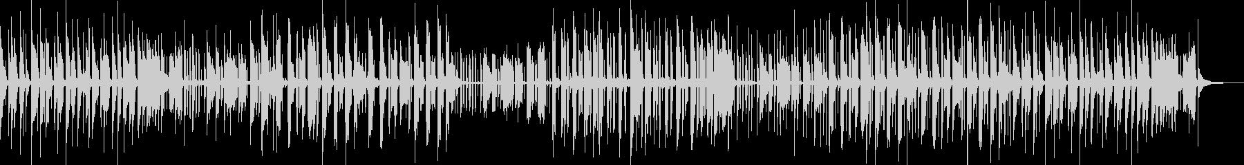 音色が綺麗で独特な世界観あるメロディーの未再生の波形