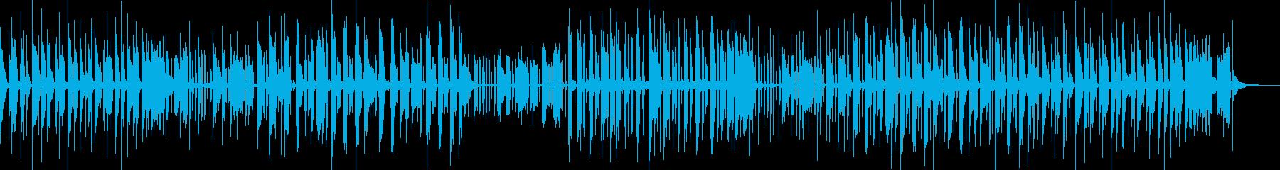 音色が綺麗で独特な世界観あるメロディーの再生済みの波形