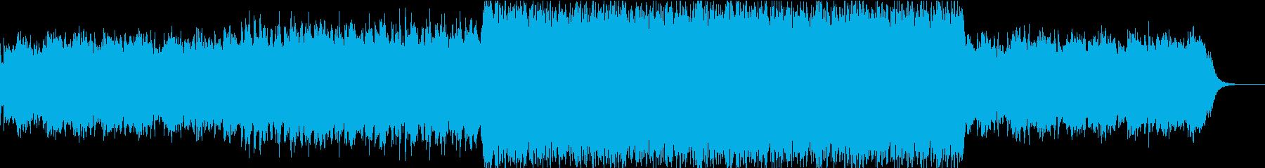 王様の憂鬱を思わせるBGMの再生済みの波形