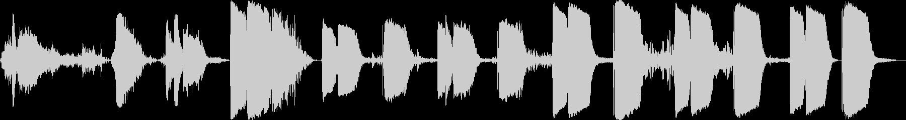 ジェットコースターシリンダーキック...の未再生の波形