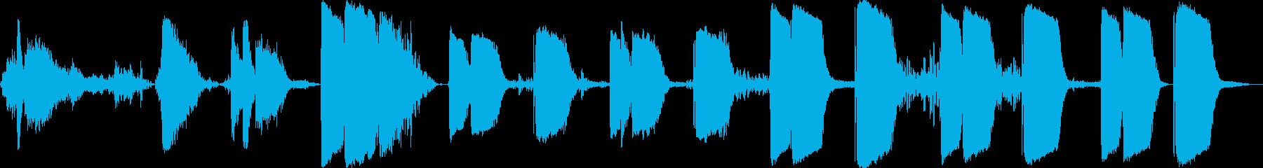 ジェットコースターシリンダーキック...の再生済みの波形