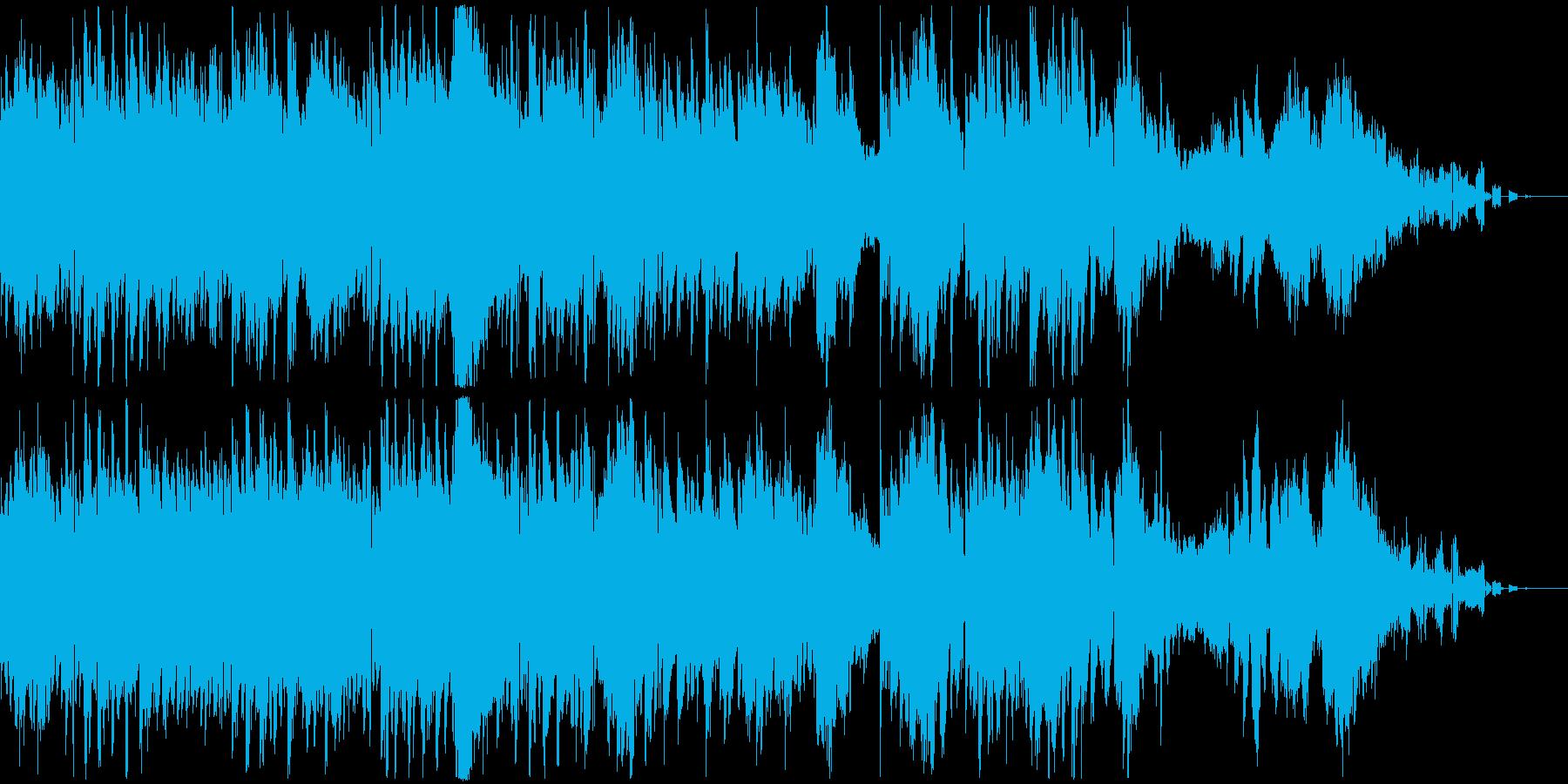 ギターとシンセパッドによる楽曲。の再生済みの波形