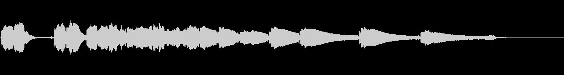 エレキギター6弦チューニング3リバーブの未再生の波形