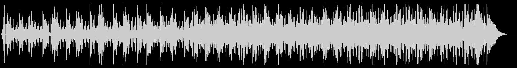 ニュース等に躍動感あるシンプル4つ打ちの未再生の波形
