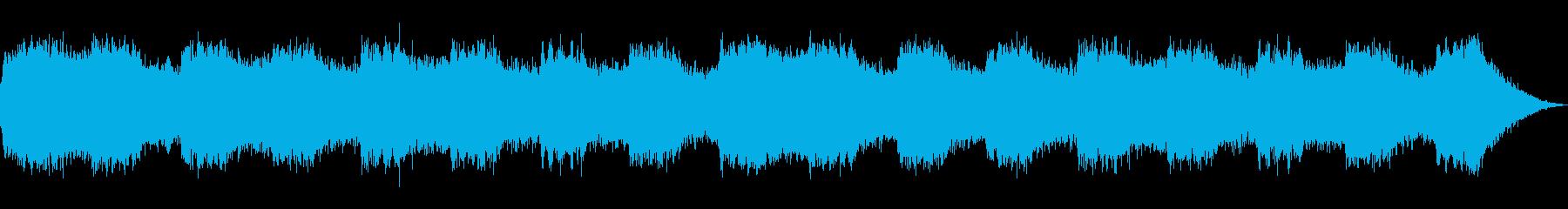 叫びのテーマ30秒BGMの再生済みの波形