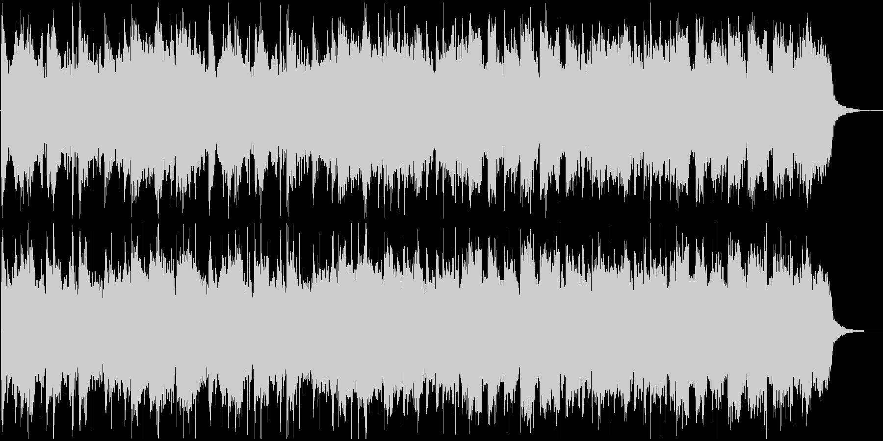和風な温泉村っぽいBGM(1ループ)の未再生の波形