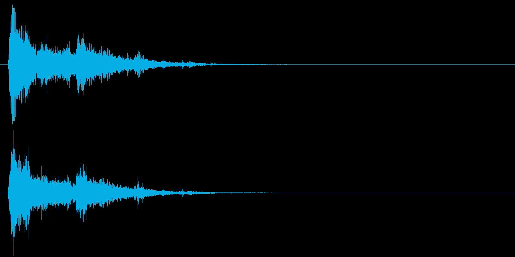 電球の破裂-08の再生済みの波形
