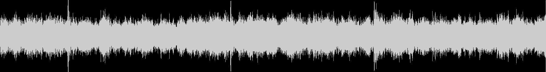 チュイーン、キュイーン(整備、工作音)の未再生の波形