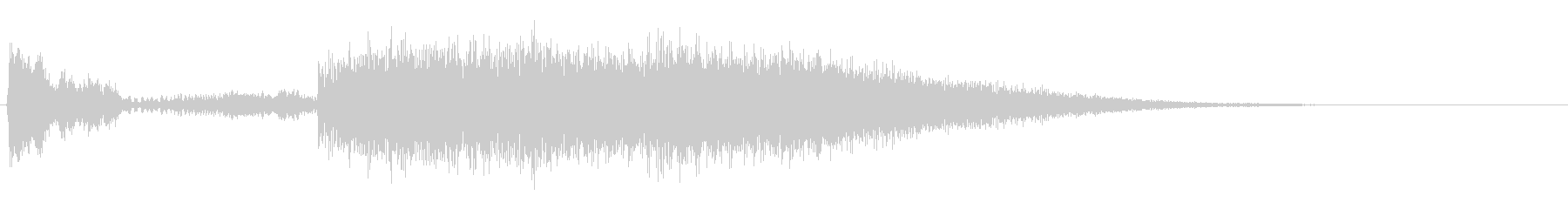 ヒューーードカンの未再生の波形