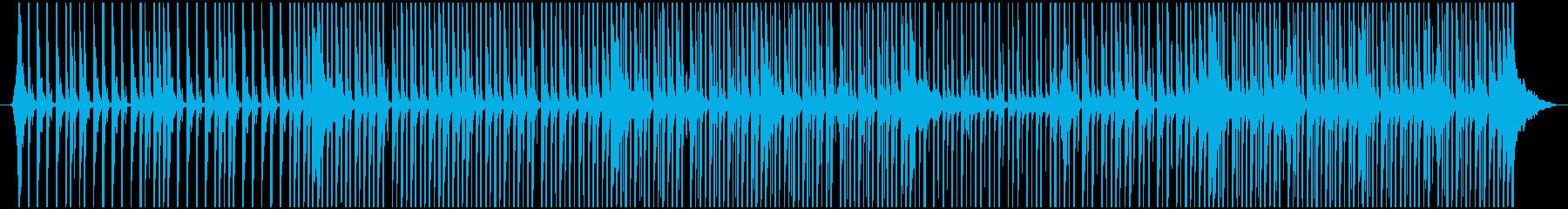 場を盛り上げるクラッブの再生済みの波形
