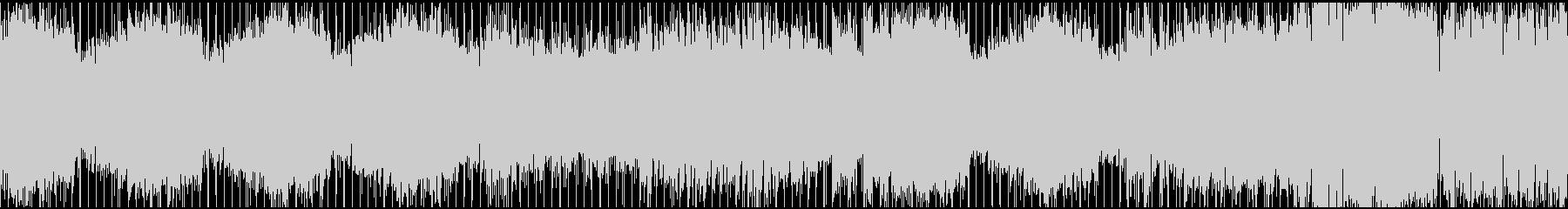 ノリの良いダンスロックチューン(ループ)の未再生の波形